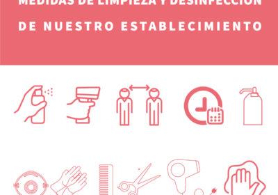Medidas de limpieza y desinfección de nuestro establecimiento